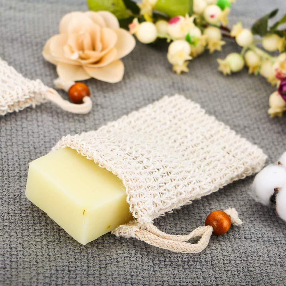 Bolsas De Fibra De Jabón Natural Para Espumar Y Secar