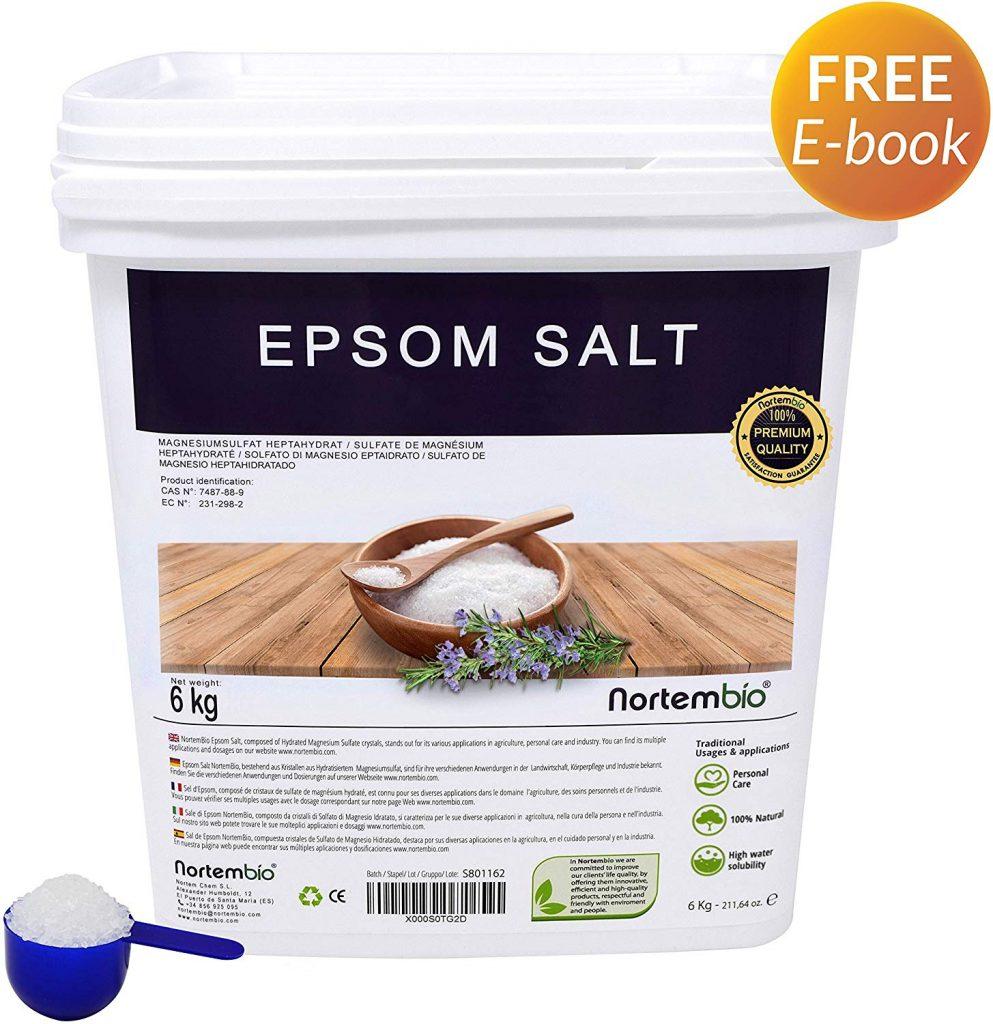 Sal de Epsom 6 Kg, Fuente concentrada de Magnesio