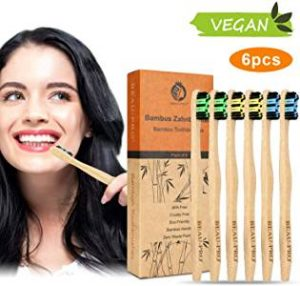 cepillos biodegradables de bambu. ecologia profunda