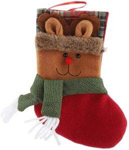 calcetines navideños para el arbol y la chimenea