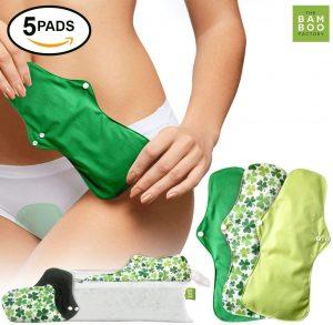 Compresas Algodón Lavables Transpirables Compresas Menstruales