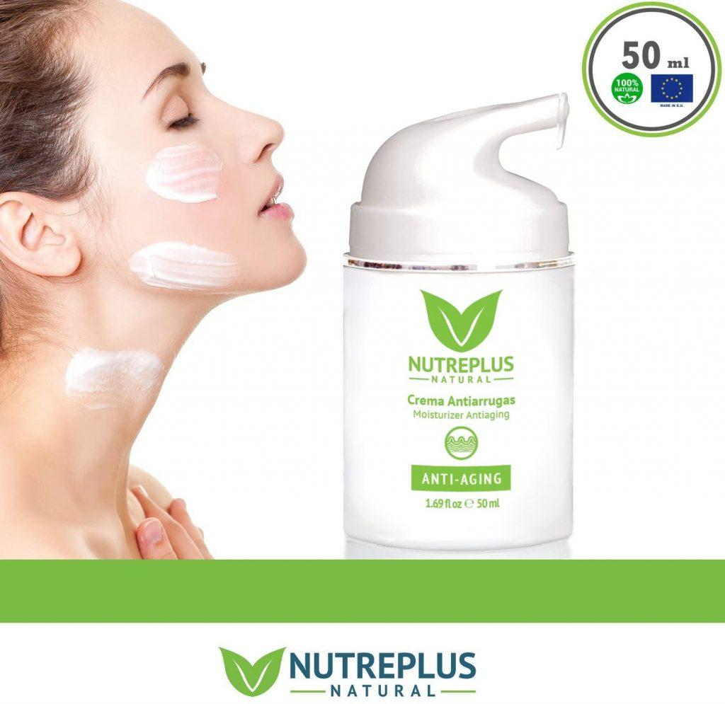 crema hidratante antiarrugas y antimancha