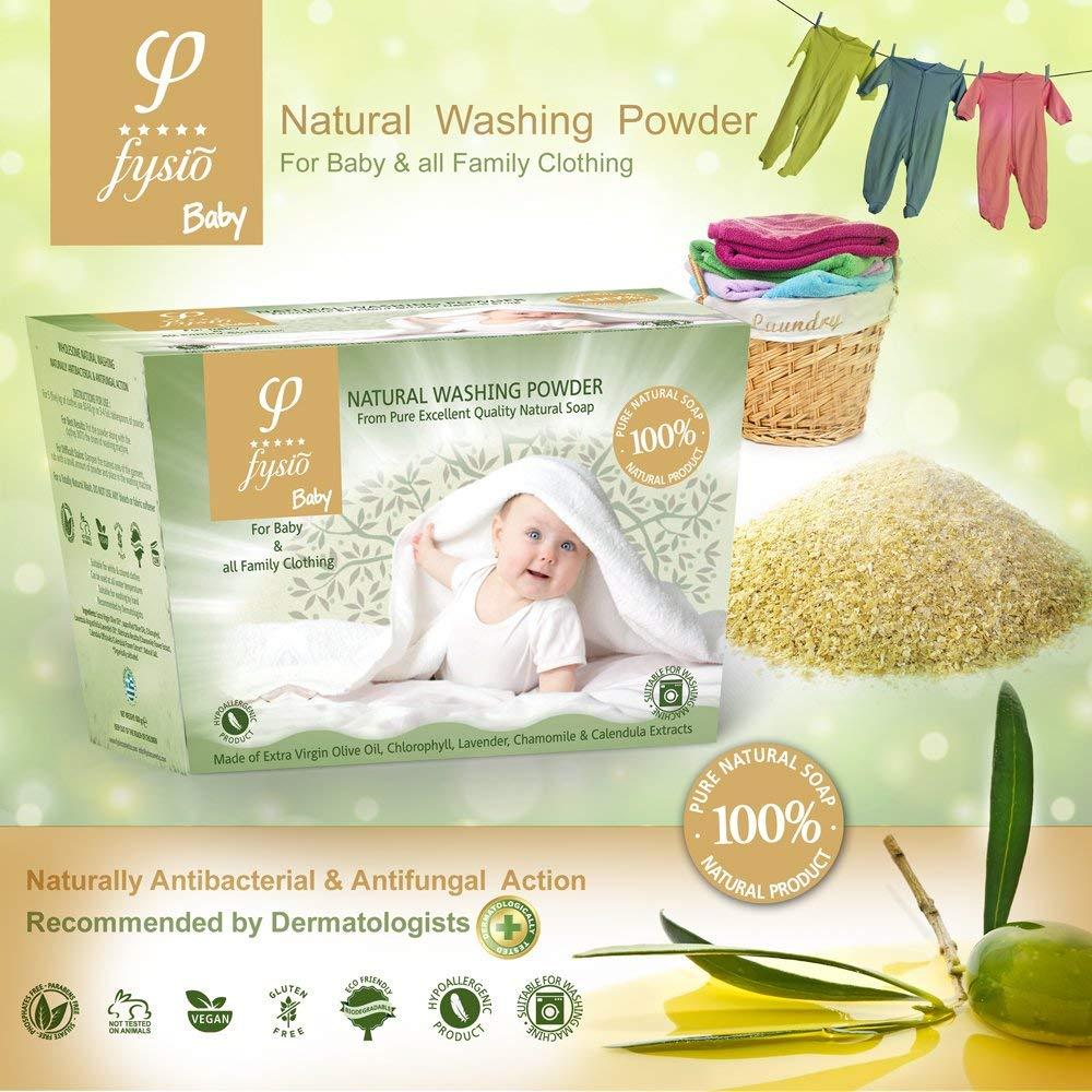 Detergente Fabricado a partir de Jabones de Aceite de Oliva