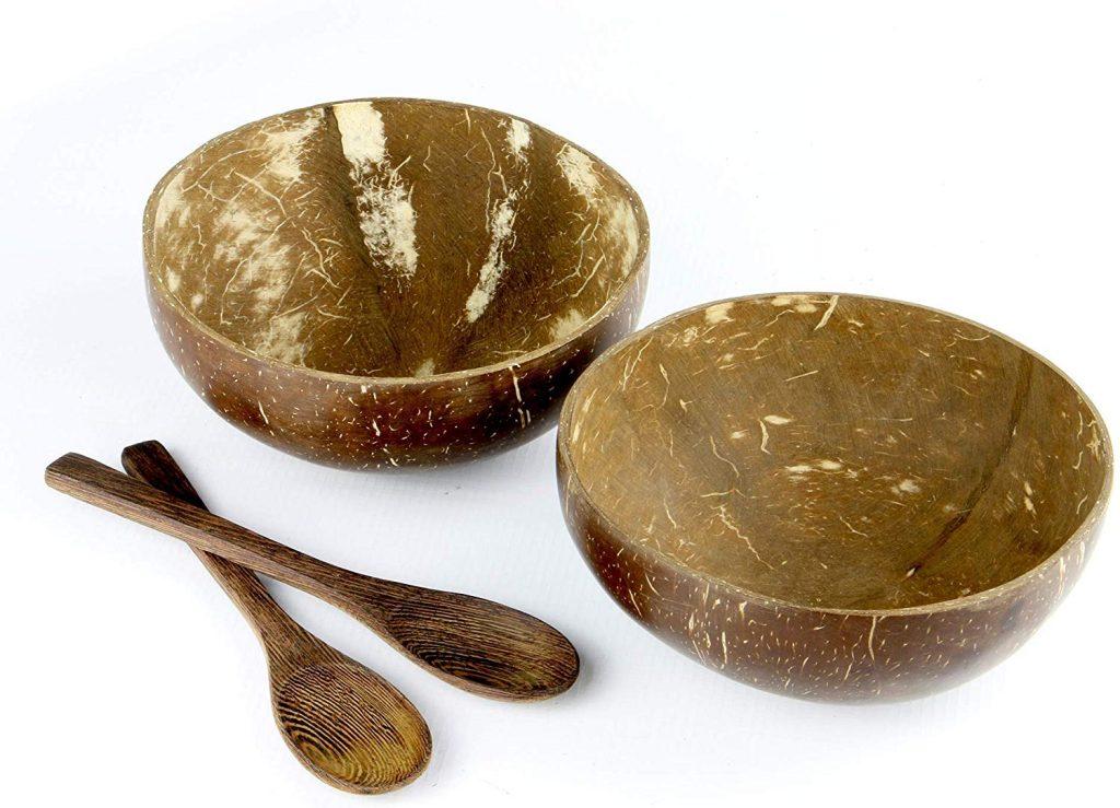 White Coconut Bowls