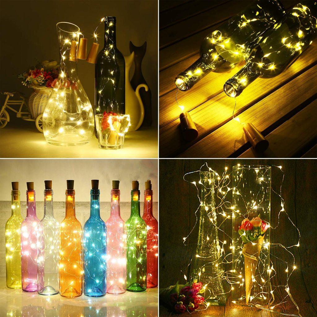 lámpara decorada, Súper brillante, ecológico, flexible y seguro para entorno romántico
