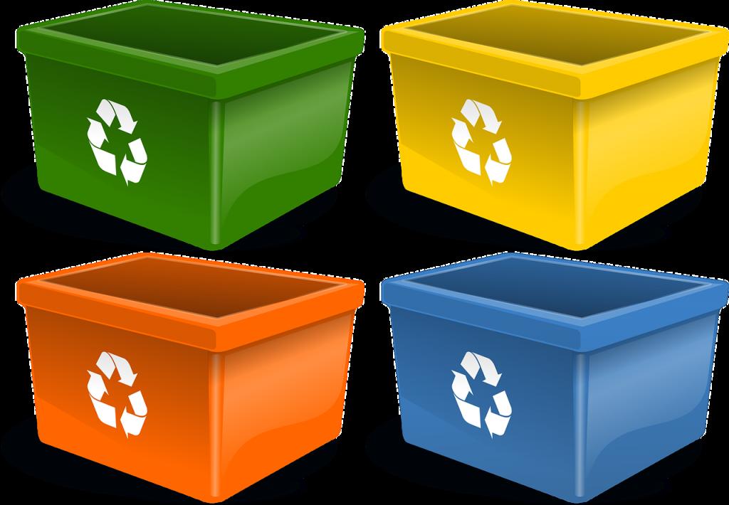reciclaje colores