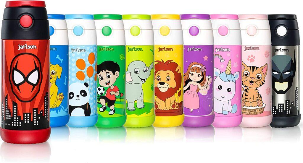 botellas de agua reutilizables para niños