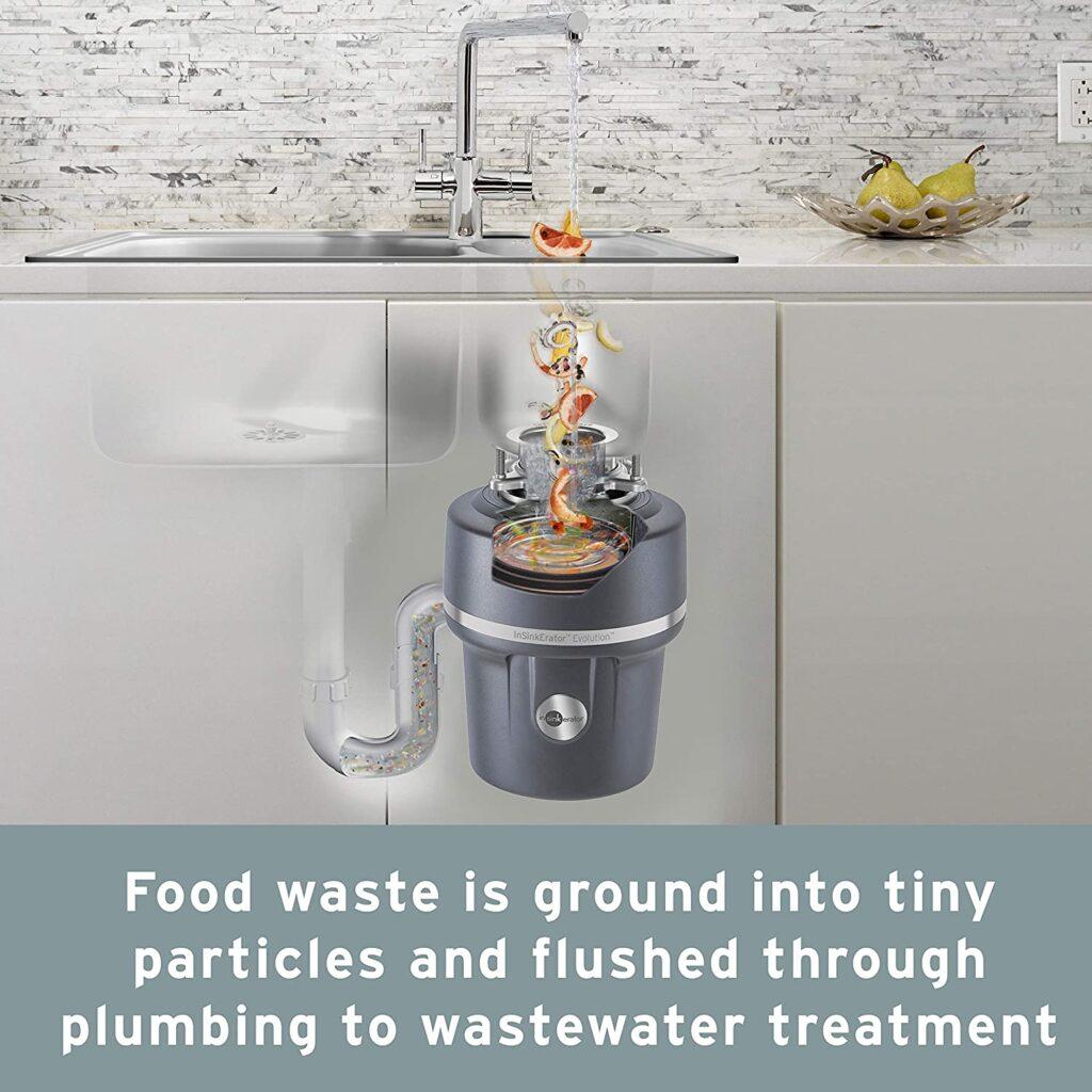 eliminación de desperdicio de comida