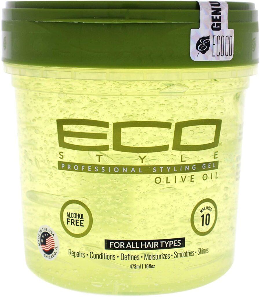gel ecológico para el cabello