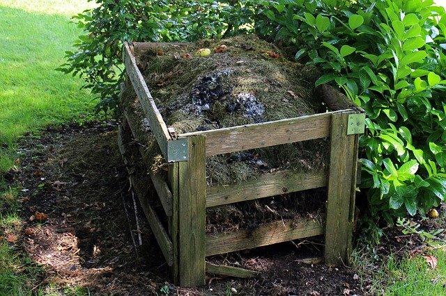 el compost se tapa